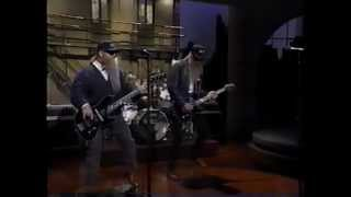 "ZZ Top - Live on Letterman ""Pincushion"" 1994?"