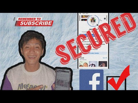 HOW TO SECURE YOUR FACEBOOK ACCOUNT|TUTORIAL