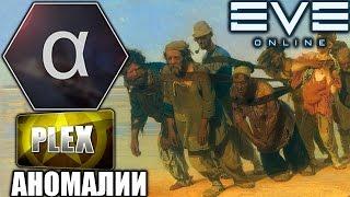 EVE: Альфа-заработок на Плекс - Аномалии и Экспедиции