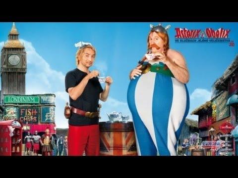 Asterix a Obelix Ve službách Jejího Veličenstva Trailer 2012