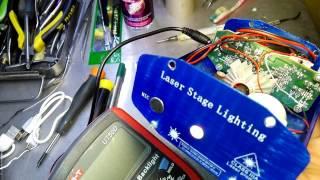 Laser Stage Lighting MINI ремонт , repair