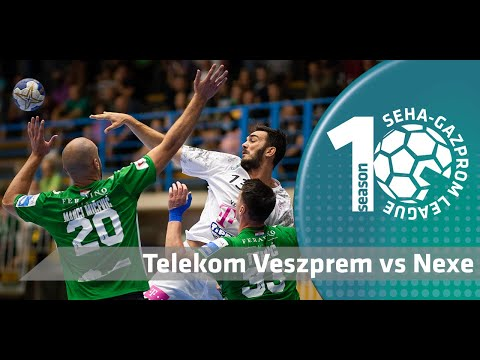 Telekom Veszprem are the first participant of the Final4! I Telekom Veszprem vs Nexe