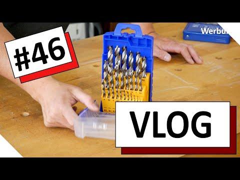 VLOG #46 - Holzbohrer, Akkuschrauber, Bohrmaschinen
