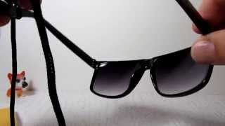 Как одеть шнурок на очки oakley