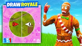 FIRST EVER *DRAW ROYALE* In Fortnite Battle Royale