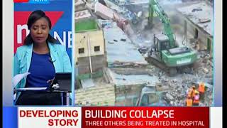 DEVELOPING STORY: Two people confirmed dead after a 5 storey building collapses in Huruma