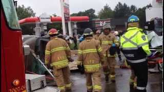 preview picture of video 'Traffic Accident June 10 2013 London, Ontario'