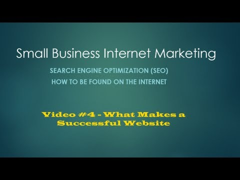 Make a Successful Website | Small Business Internet Marketing