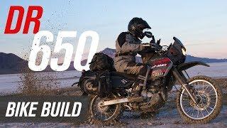 Suzuki DR650 Adventure Bike Build