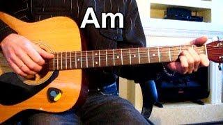 Сектор газа - Гуляй мужик + РАЗБОР СОЛО Тональность ( Аm ) Как играть на гитаре