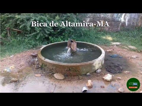 A Famosa Bica de Altamira-MA que jorra água salgada há mais de 20 anos
