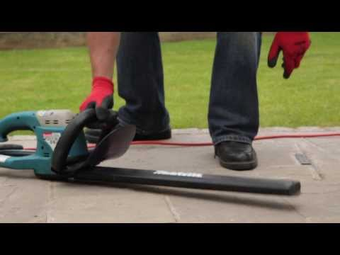 Electric Hedge Trimmer Instructional Video - HSS Hire