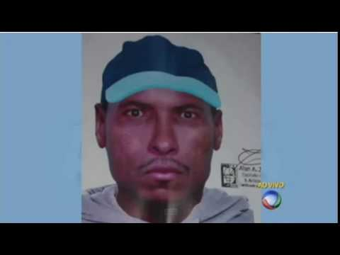 Polícia divulga o retrato-falado do maníaco que ataca em Taboão da Serra, em SP