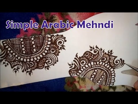 Download Easy Arabic Mehndi Henna Designs For Hands Simple Arabic