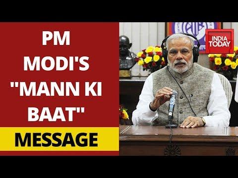 "PM Modi Addresses Coronavirus Crisis In India In His ""Mann Ki Baat"" | Watch FULL"