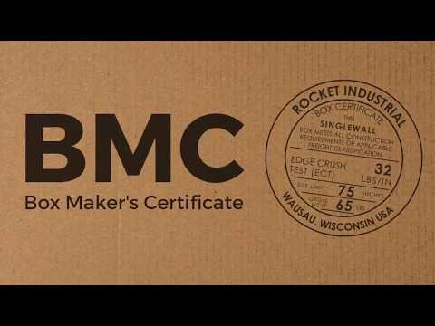 What is a Box Maker's Certificate? (BMC)