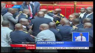 KTN Prime: Motion to impeach Kidero tabled as drama is witnessed in the county assemby, 4/10/2016