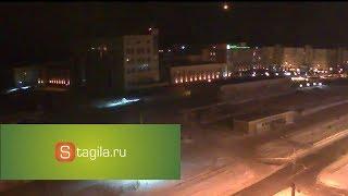 Над Уралом вновь пролетел метеорит. Видео с камер в Нижнем Тагиле
