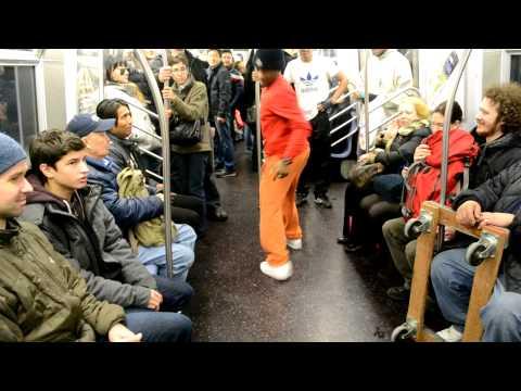 The Random stuff that happen in New York Subway 1.13.13