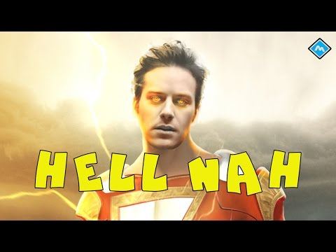 News - Armie Hammer as Shazam, Lego Marvel Super Heroes 2 and more! || Memo Acebo