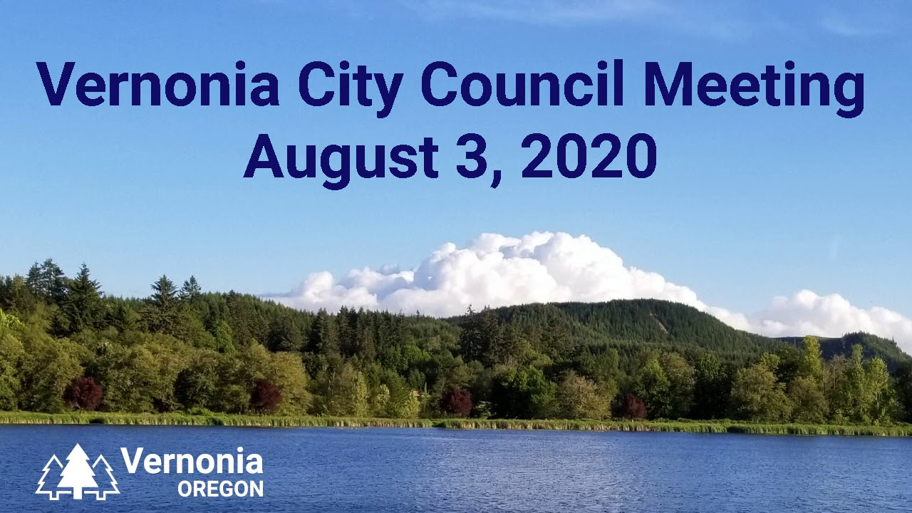 City Council Meeting - August 3, 2020