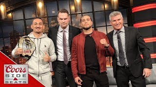 """""""This ain't Khabib and Conor, man. I can sit next to the guy"""" - Brian Ortega on Max Holloway"""