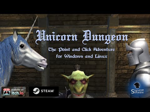 Unicorn Dungeon Release Trailer thumbnail