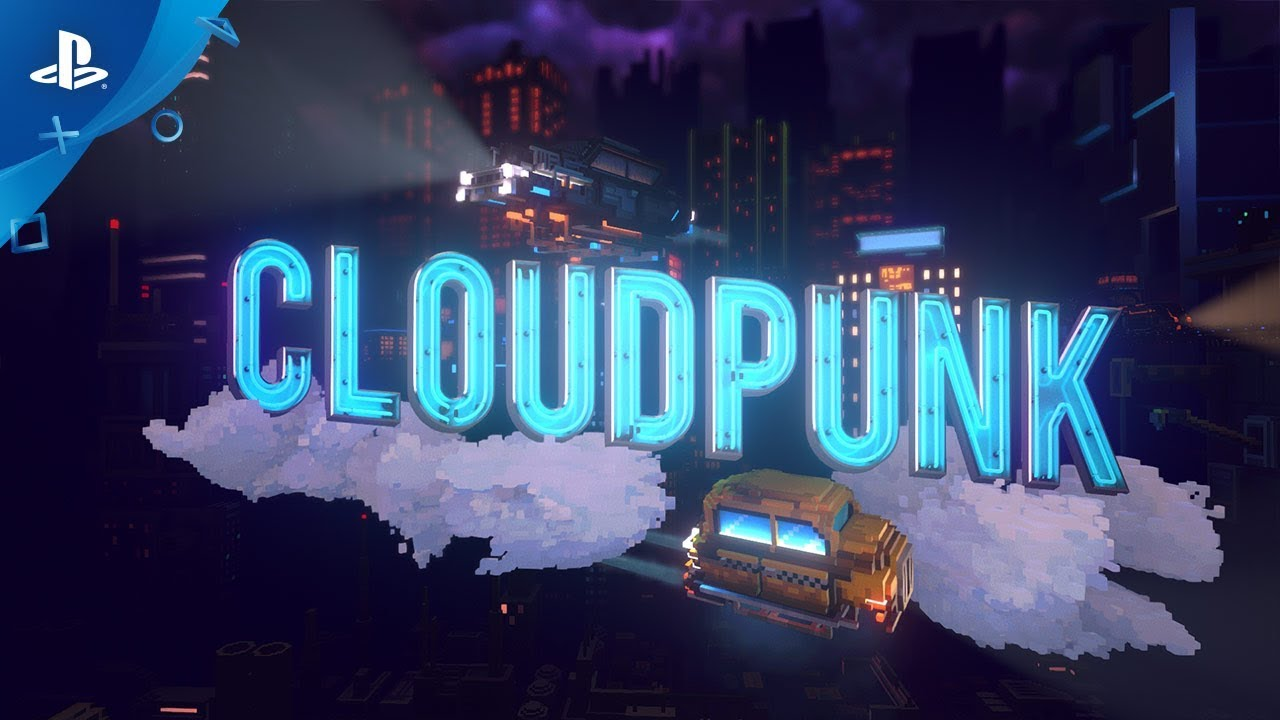 Sopravvivi in una notte da corriere in Cloudpunk mentre esplori una metropoli cyberpunk in stile voxel