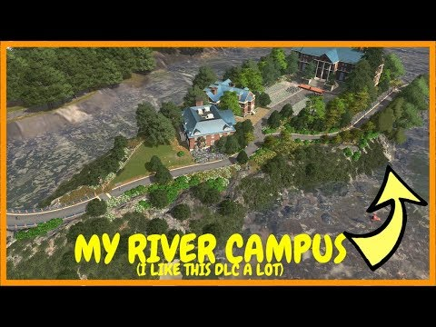 Trying The Campus DLC | Cities Skylines
