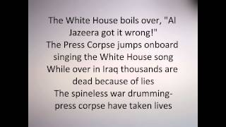 Anti Flag - The Press Corpse (Lyrics)