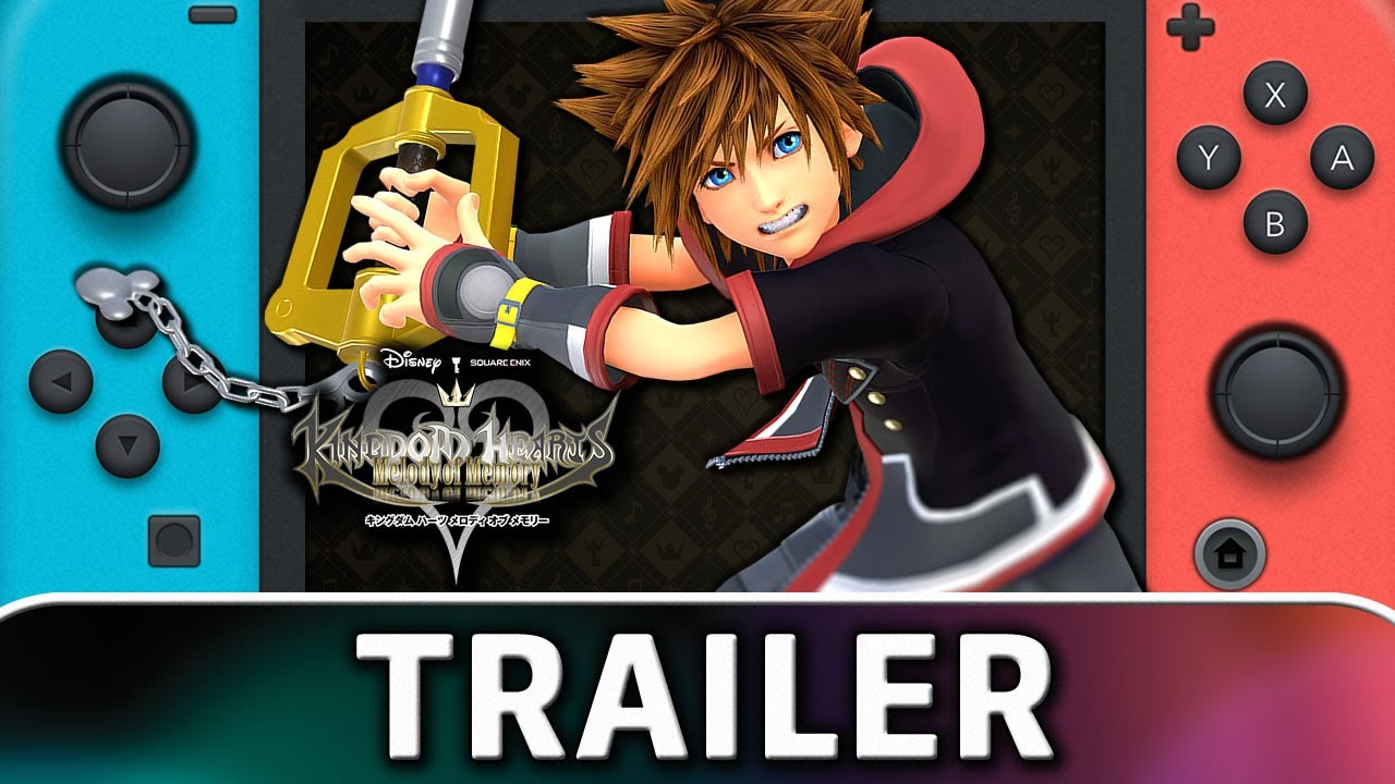 Kingdom Hearts: Melody of Memory   Nintendo Switch Trailer