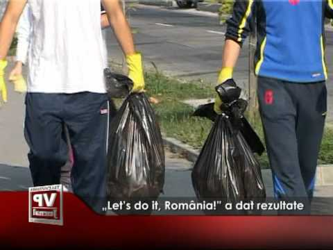"""Let's do it, România!"" a dat rezultate"