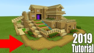 Minecraft Tutorial How To Make A Large Wooden Survival