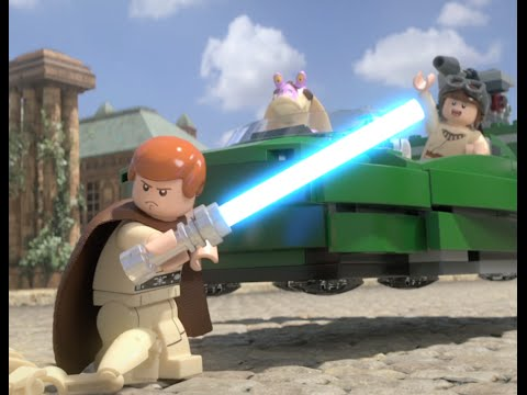 Vidéo LEGO Star Wars 75092 : Starfighter de Naboo