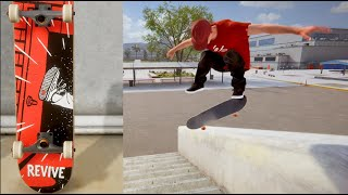 REVIVE SKATEBOARDS IN A VIDEO GAME!? / Skater XL