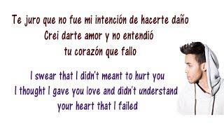 Te Me Vas - Prince Royce - Lyrics English and Spanish - Translation & Meaning - Letras en ingles