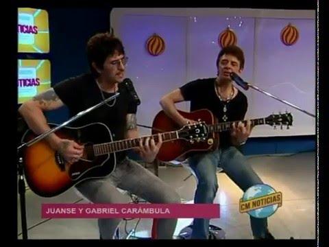 Gabriel Carámbula video El hombre suburbano c/ Juanse - Acústico - Diciembre 2015