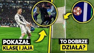 Ronaldo POKAZAŁ KLASĘ i nie tylko... OŚMIESZYŁ SIMEONE! Czy Goal-line DZIAŁA?