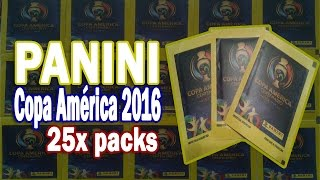 PANINI Copa América Centenario ⚽️ 25x packs ⚽️