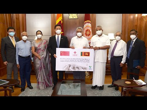 Sri Lanka receives largest COVID-19 vaccine donation from China