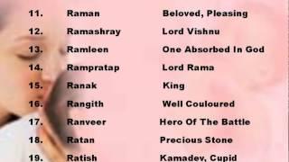 mesh rashi boy names - Video hài mới full hd hay nhất
