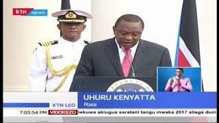 Rais wa Sudan Kusini Salva Kiir akutana na Uhuru Kenyatta