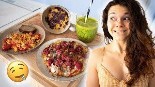 """Trois recettes à faire en 5 MINUTES TOP CHRONO !  ABONNEZ-VOUS A MA CHAÎNE ➤ http://bit.ly/2x0Brfp ➤ DEVENEZ LE MEILLEUR FITCAT ! Pour pré-commander mon LIVRE de CUISINE ➤ http://tidd.ly/395b8cd8   Mes produits alimentaires nu3 ➤ http://bit.ly/jujufitcatsnu3 ➤ -15% avec le code JUJUFITCATS sur tous les produits !   Ma marque TEAMFITCATS ➤ https://jujufitcats.com   N'hésitez pas à me suivre sur mes différents réseaux sociaux :  - Instagram ➤ https://www.instagram.com/jujufitcats/ - Twitter ➤ https://twitter.com/jujufitcats/ - Facebook ➤ https://www.facebook.com/jujufitcatsa... - Snapchat ➤ @jujufitcats - Musically ➤ @jujufitcats   Ma boîte postale :  JUJU FITCATS BP 60056 91470 LIMOURS  Mon adresse e-mail (contacts pros uniquement) ➤ jujufitcatspro@gmail.com   Si vous êtes arrivés jusqu'ici, écrivez """"MAAANGEEER !"""" dans les commentaires !"""