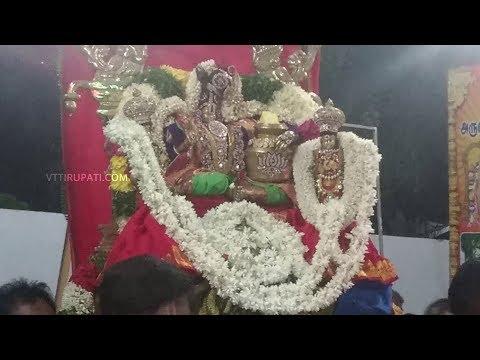 Vattavilai Then Tirupati Perumal Unjal Seva on 14-09-2019