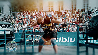 STAGE 9 - Strongman champions league Romania 2015 official trailer 2015