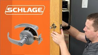 How to Install the Schlage AL Lock