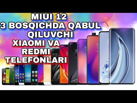 MIUI12 3 BOSQICHDA QABUL QILUVCHI TELEFONLAR/RELIANCE JIO 54 DOLLARLIK ANDROID SMARTFON CHIQARMOQCHI