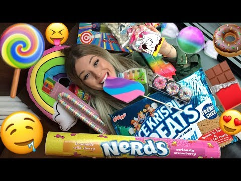 BLIND amerikanische Süßigkeiten kaufen ! 🍭😲😍 | BibisBeautyPalace