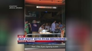 VIDEO: Rex, Rob Ryan appear to be caught getting into a bar scuffle in Nashville
