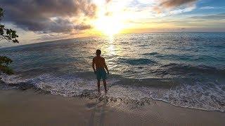 Выживание на необитаемом острове [2 Часть] Чуть не утонул в океане.